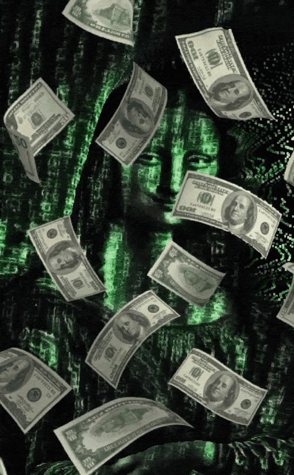 Mona Money Matrix by nft_ART