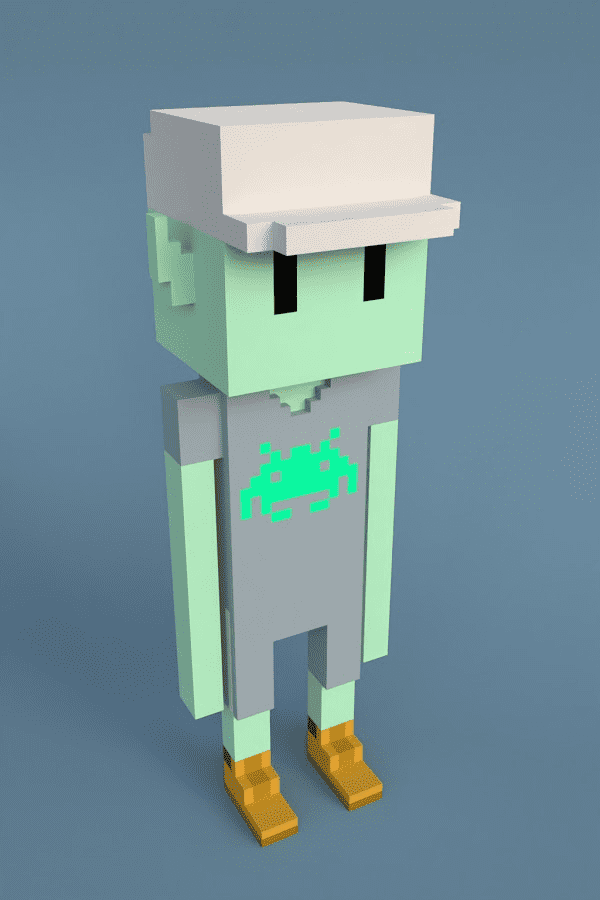 Meebit #2948 by Larva Labs
