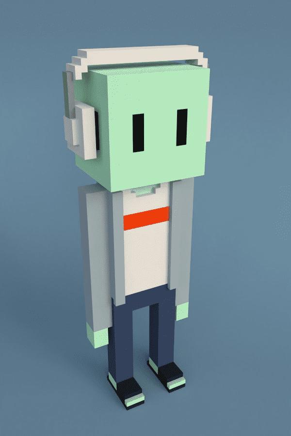 Meebit #776 by Larva Labs