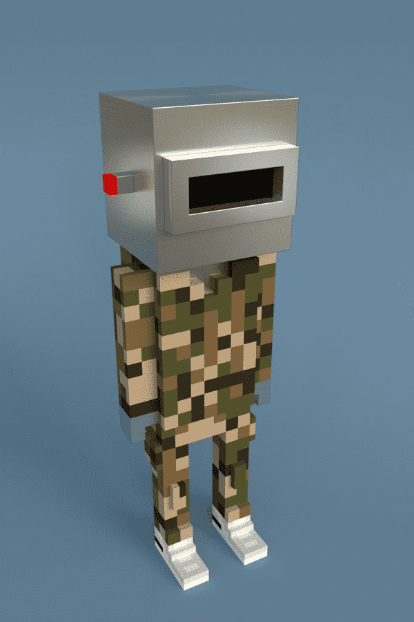 Meebit #564 by Larva Labs